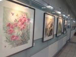 Traditional Chinese ink painting. (Zhongxiao Fuxing station, Taipei)