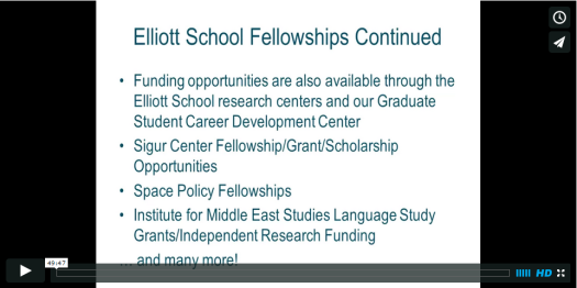 OIS1415 Fellowships